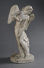 Cupid Cutting His Bow from the Club of Hercules