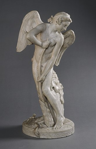 Edmé Bouchardon - Image: Edme Bouchardon, Cupid, 1744, NGA 41708