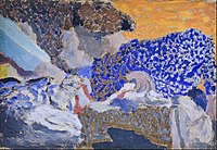 Edouard Vuillard - Deux ouvrières dans l'atelier de couture (Two Seamstresses in the Workroom) - Google Art Project.jpg