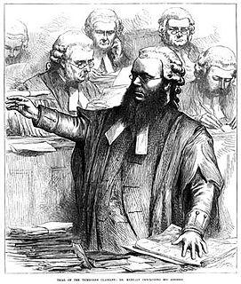 Edward Kenealy 19th-century Irish lawyer and writer