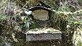 Egelsee (Tirol) — Gedenkstein Felix Battisti.JPG