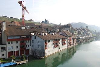 Eglisau - Eglisau on the Rhine river