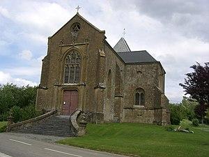 Autruche - Image: Eglise Autruche