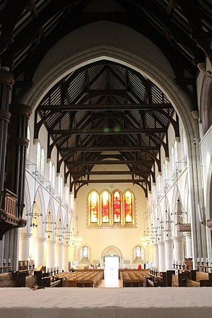 St Mary's Church, Swansea - Image: Eglwys St Mary's Church Swansea Abertawe Wales 18