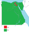 Egyptian constitutional referendum results by government, 2012.png