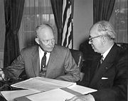 Eisenhower and Strauss