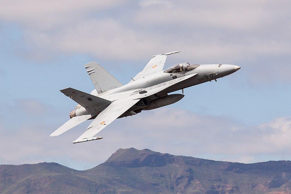 Ejercicio Dissimilar Air Combat Training - DACT 2017 - Base A%C3%A9rea de Gando (32765096565)