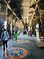 Ekambareswarar Temple Kanchipuram Tamil Nadu - mandapam and walkway.jpg