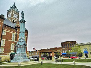 Eldora, Iowa City in Iowa, United States