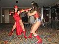 Elektra vs. Wonder Woman cosplay.jpg