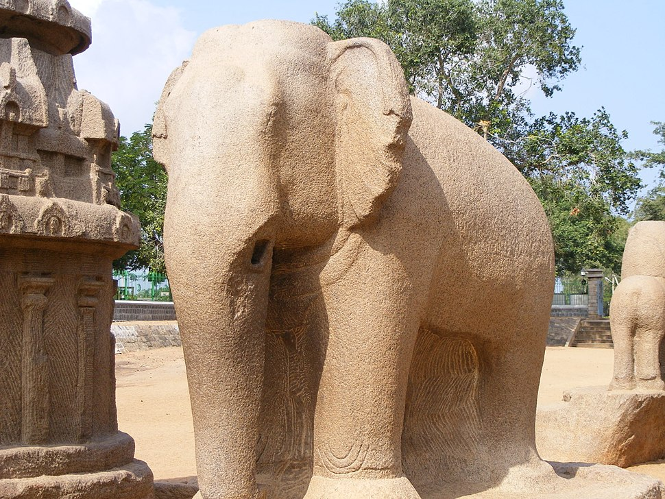 Elephant , the five rathas