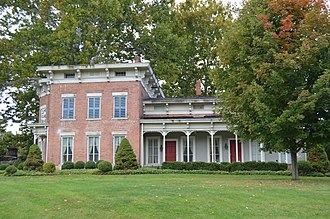 National Register of Historic Places listings in Ashtabula County, Ohio - Image: Eliphalet Austin House