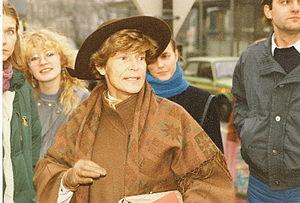 Elisabeth Lichtenberger - Lichtenberger  in 1984