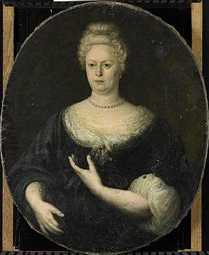 Abraham van Riebeeck - Image: Elisabeth van Oosten (1660 1714). Echtgenote van Abraham van Riebeeck Rijksmuseum SK A 812