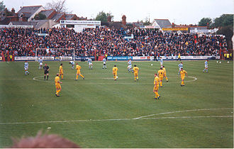 Reading F.C. - The last ever competitive match played at Elm Park between Reading and Norwich City in May 1998