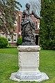 Elmira College Olivia Langdon Clemens statue.jpg