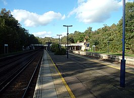 Elmstead Woods railway station BR7 - geograph.org.uk - 74384.jpg