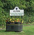 Elton Boundary sign 2014.jpg
