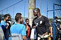 Em clima festivo, seleção da África do Sul treina contra time da Polícia Militar (28554380821).jpg