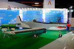 Embraer Tucano Display at CAGAD Booth, TADTE 2015 20150815a.jpg