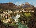 Emil Ludwig Löhr - View of Bad Gastein.jpg