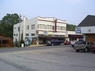 Eminence, Missouri City in Missouri, United States