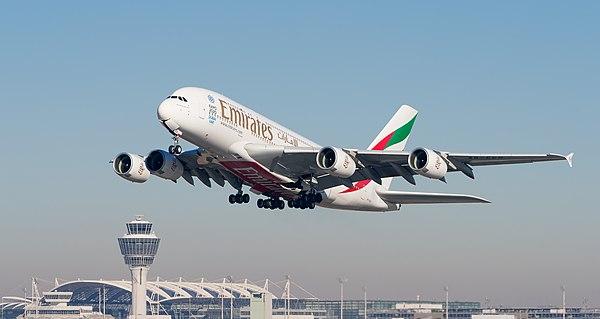 Emirates A380 Hub бесплатно