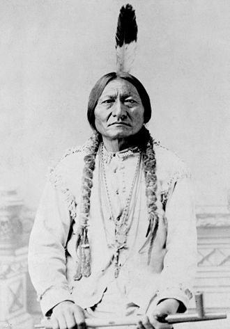 Sioux - Sitting Bull, a Hunkpapa Lakota chief and holy man, c. 1831 – 1890 December 15.