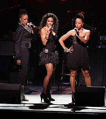 En Vogue (2015): zleva Rhona Bennett, Cindy Herron and Terry Lynn Ellis