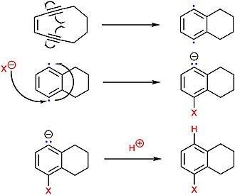 Hexosaminidase - Image: Enediyne addition reaction mechanism