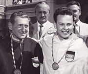 Enrico Forcella and Peter Kohnke 1960