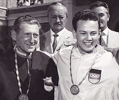 Enrico Forcella and Peter Kohnke 1960.jpg