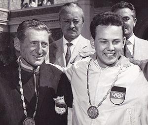 Enrico Forcella - Image: Enrico Forcella and Peter Kohnke 1960