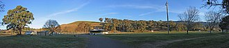 Ensay, Victoria - Image: Ensay Vic Sports Ground Panorama