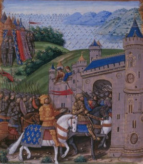 Siege of Saint-Jean-dAngély (1351) Siege during the Hundred Years War