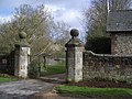 Entrance Gate and Piers to Stone House at Rushlake Green - geograph.org.uk - 381317.jpg