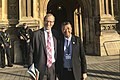 Entrusted authors Mark Goyder (left) and Ong Boon Hwee (right) outside the House of Lords.jpg