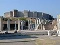 Ephesos St John bema & turkish citadel.jpg