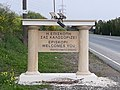 Episkopi, Limassol, Welcome Road Sign 01.jpg