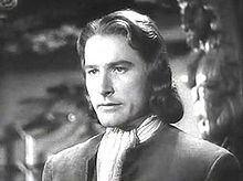 Errol Flynn in Captain Blood trailer.JPG