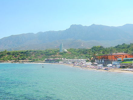 Escape Beach Club - one of the many seaside facilities around Kyrenia Escape Beach North Cyprus.jpg