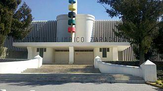 Estadio Ignacio Zaragoza - Image: Estadio Olímpico Ignacio Zaragoza
