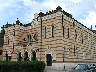 Lipót Baumhorn - The former synagogue in Esztergom