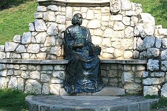 John Vitéz - Statue in Esztergom