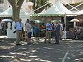 Etape 3 Tour de France - Relais etape dans Arles - Place de Lamartine by Mikani.JPG