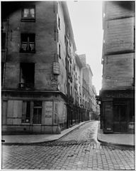 Eugène Atget, Rue Laplace and Rue Valette, Paris, 1926.jpg