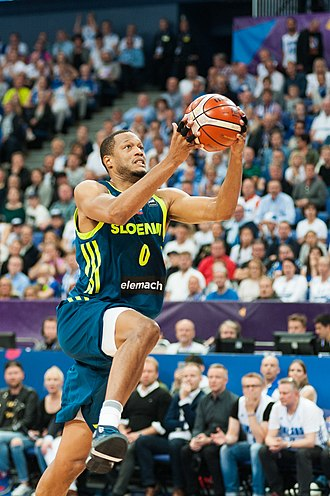 Anthony Randolph - Randolph with Slovenia during EuroBasket 2017, where he won the gold medal