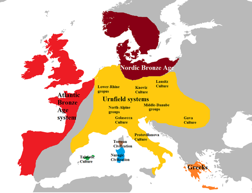 Europe late bronze age