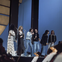 The Les Humphries Singers beim Grand Prix Eurovision de la Chanson (1976)