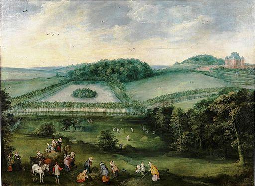 Excursión campestre de Isabel Clara Eugenia (Museo del Prado)